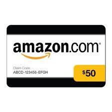 Amazon $50 Git Card